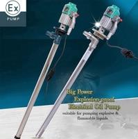 National Certificated 220V Explosion Proof Electrical Oil Pump Petrol Gasoline High Viscosity Liquid Transfer Pump