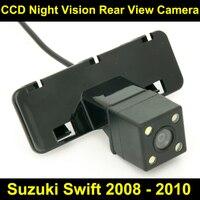 Waterproof 4 LED Rear View Camera BackUp Reverse Parking Camera For Suzuki Swift 2008 2009 2010
