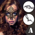 NEW Halloween Party Mask Sexy Black Fancy Dress Venetian Lace Mask Masquerade Ball Prom Costume Adult Games Sex Toys Flirt Mask