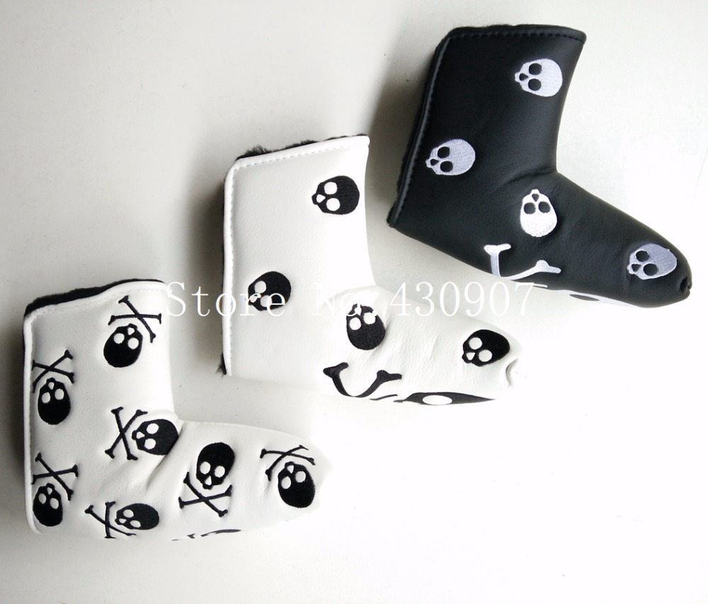 High Quality 1pc Golf Blade Putter Covers Skull Putter Cover For Golf Scotty Cameron Putter