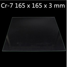 Creality 3D Ender-2 Cr-7 165 x 165 x 3 mm Borosilicate Glass Plate Bed 3d Printer Createbot mini