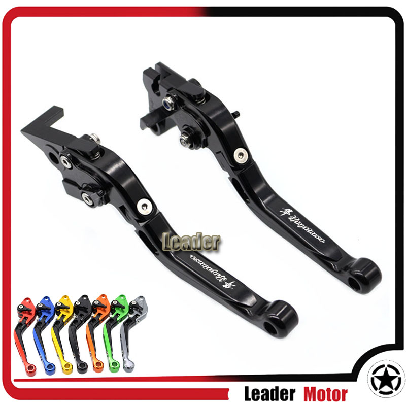 For SUZUKI GSX1300R HAYABUSA GSX 1300R 1999-2007 Motorcycle Accessories Folding Extendable Brake Clutch Levers Black aftermarket free shipping motorcycle parts billet brake clutch hand lever for suzuki gsxr1300r hayabusa 1999 2007 black