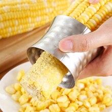 Kitchen Gadgets Corn Stripper Stainless Steel Cob Peeler Slicer Circular Cutter Scraper Vegetable Tools Corer