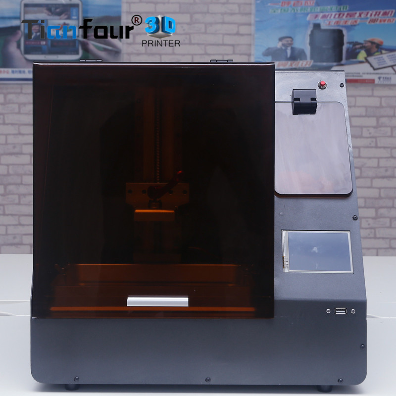 все цены на New Tianfour Tf200 UV light curing SLA/LCD 3D Printer high precision DLP Impresora with Self-contained curing box Jewelry онлайн