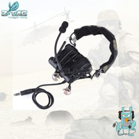 מכשיר הקשר Combat הצבאי Z-TAC zComtac IV In-Ear טקטי מבטל רעשים תעופה אוזניות עבור מכשיר הקשר Z038 (1)