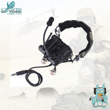 Buy Z-TAC Military Combat zComtac IV In-Ear Tactical Noise Canceling Aviation Headset for Walkie Talkie Z038 directly from merchant!