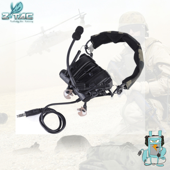 Z-TAC Military Combat zComtac IV In-Ear Tactical Noise Canceling Aviation Headset for Walkie Talkie Z038 цена 2017