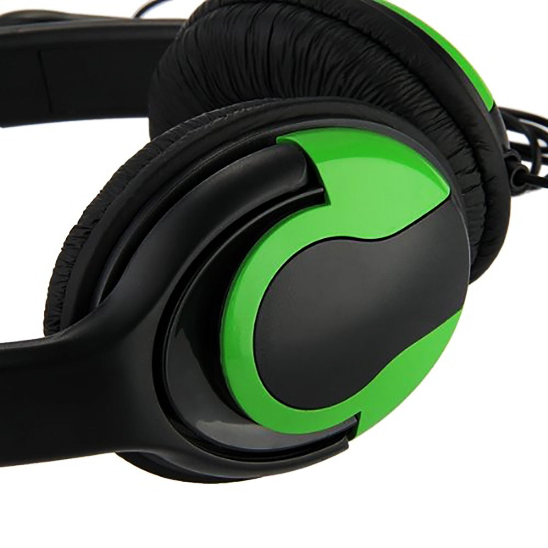 Marsnaska   Fashion Hot Selling Adjustable  Gaming Headset wired Earphone Headsets + Mic Microphone for Xbox360 black green 2 5mm plug headset w microphone for xbox360 xbox 360 slim black
