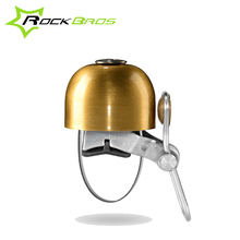 ROCKBROS Classical Bike Bell Ring Horns Stainless Loud Cycling Horn Handlebar Small Alarms Crisp Safety Guard Bike Accessories