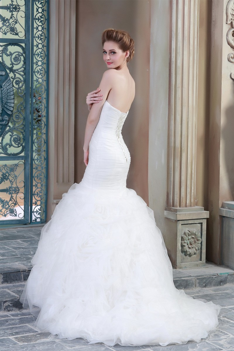 Mermaid Wedding Dresses China Supplier Made In China Latest Dress Designs HSW7 (4)