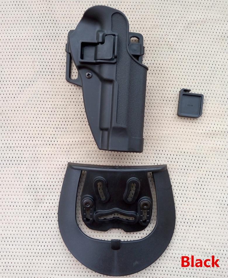High quality Black hawk CQC Beretta M9 M92 M96 Hand Gun right hand Holster Military Tactical