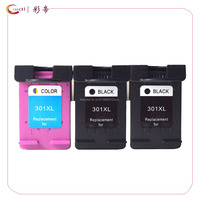 3 Pack Compatible For HP 301 XL Hp301 Ink Cartridges HP 2510 3510 D1010 1510 2540