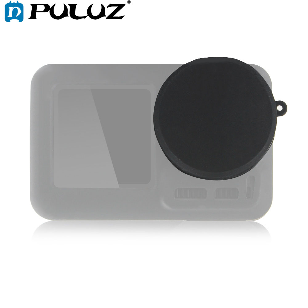 PULUZ Silicone Protective Lens Cover Cap For DJI Osmo Action Camera Accessories