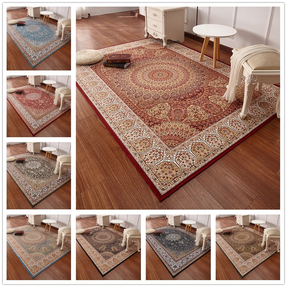 200*290cm Persian Style Carpets For Living Room Luxurious Bedroom Rugs And Carpets Classic Turkey Study Floor Mat200*290cm Persian Style Carpets For Living Room Luxurious Bedroom Rugs And Carpets Classic Turkey Study Floor Mat