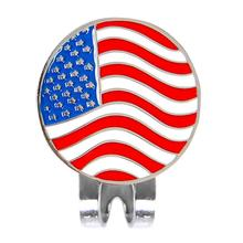 Buy HobbyLane Outdoor Golf Product 1.18 Inch Flag Design Golf Tag W Magnetic Golf Cap Clip Tag Golf Position Golf Marker Ball Marker directly from merchant!
