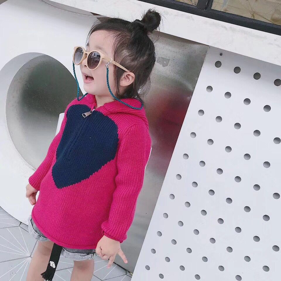 Girl sweaters hooded pullover kids Knitted Sweater girl clothing autumn winter Cardigan clothes christmas knitted sweater cardigan for girls autumn winter winter kids pullover deer clothing children sweater 10 years 12 14 page 2
