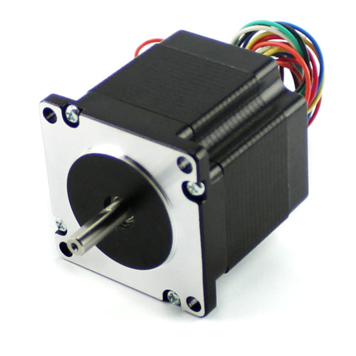 ФОТО 0.9 degree  57mm  2 Phase Hybrid  Stepper Motor , 8W 3.2V NEMA23  57HM76-2804  Universal Motor  with CE certification