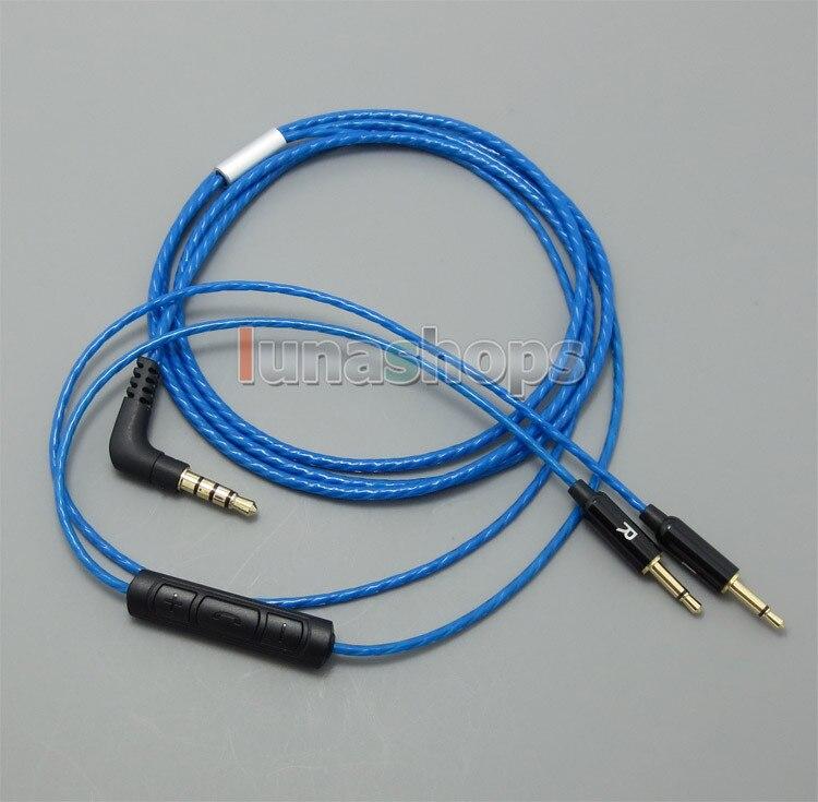bilder für Mit Fernbedienung Mikrofon Kabel Weiches Licht gewicht für B & W Bowers & Wilkins P3 kopfhörer LN004984