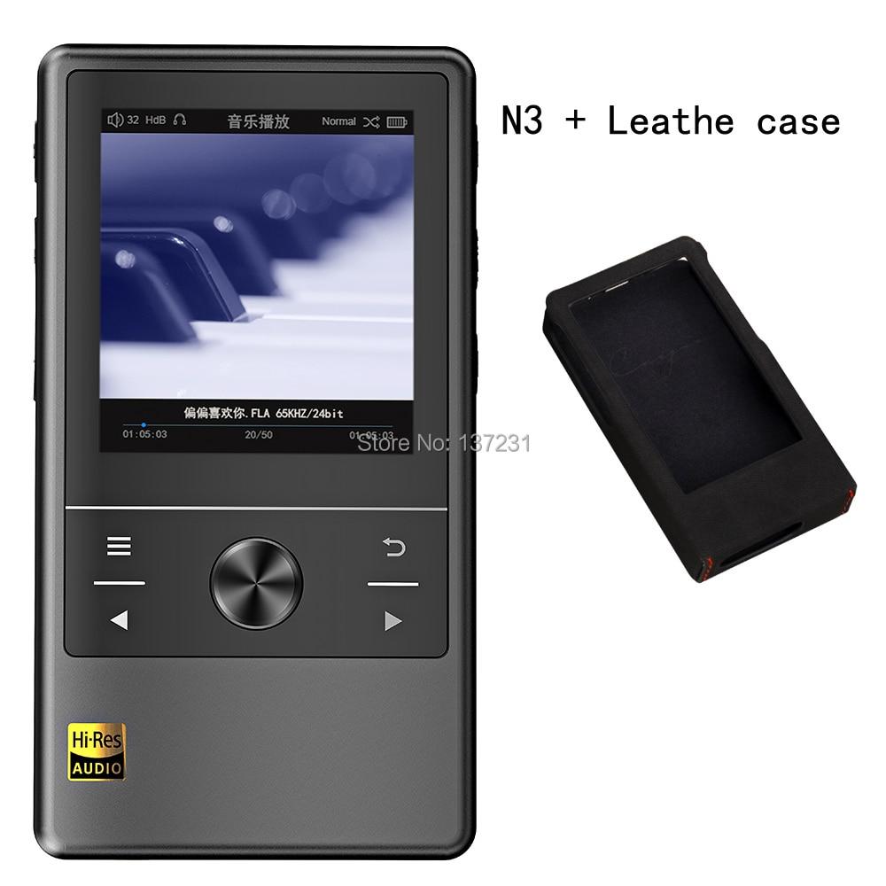 Cayin N3 Leathe case DSD Bluetooth otg hifi portable player Music Player mp3 USB Audio DAP