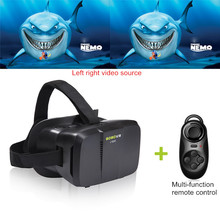 """Xiaozhai Virtual Reality 3D VR Glasses BOBOVR Head Mount for 4.0~6.0"""" Phone with Bluetooth Remote"""