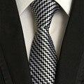 Gravatas Para Os Homens de Ternos de Negócios Formal Ocasional Gravata de Poliéster Gravata Gravata dos homens Gravatas Gravatas Marca Listrado Clássico Para O Casamento