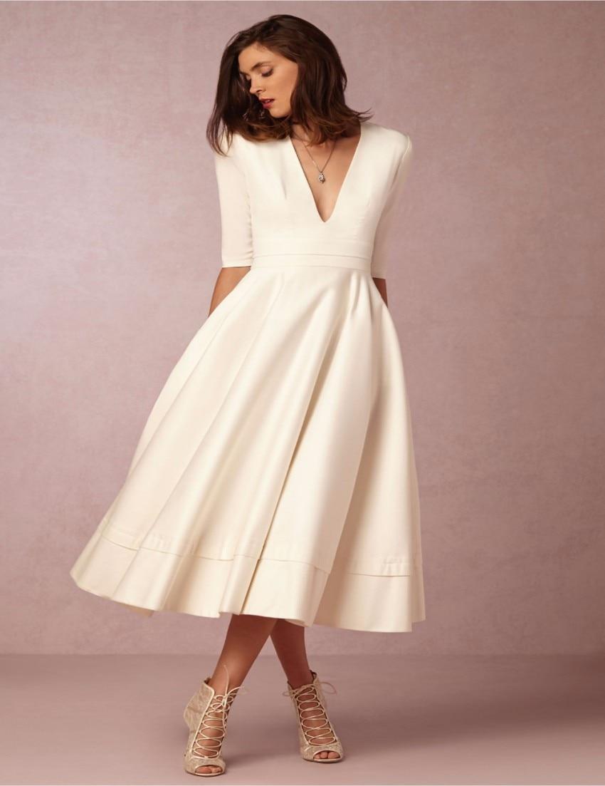 Tea Length Formal Dresses Plus Size – DACC