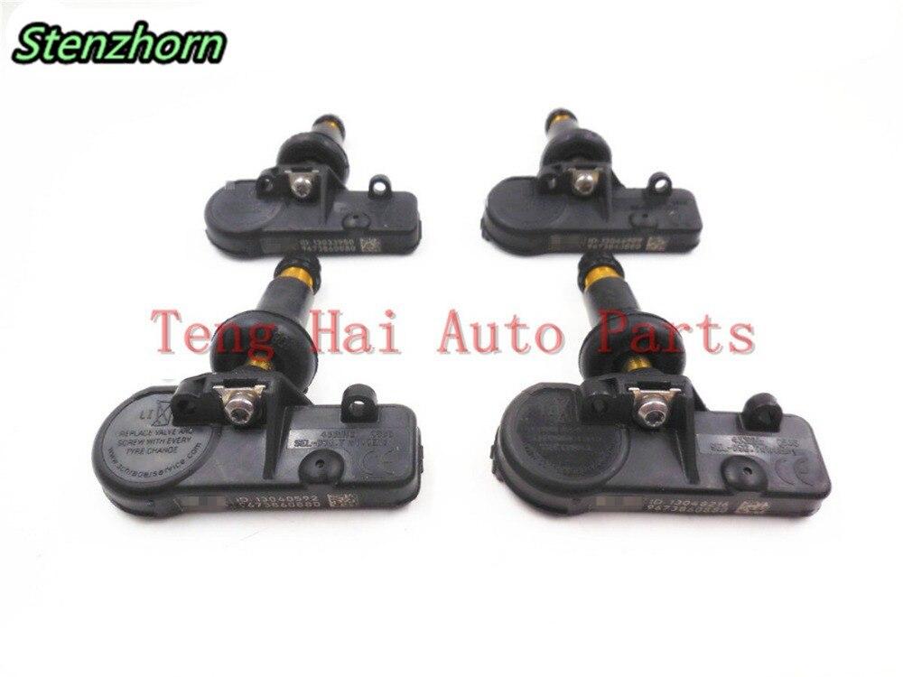 Stenzhorn 4PCS OEM 9673860880 Schrader RDKS For Peugeot CITROEN PSA 5430W0 5430.W0 433MHZ TPMS