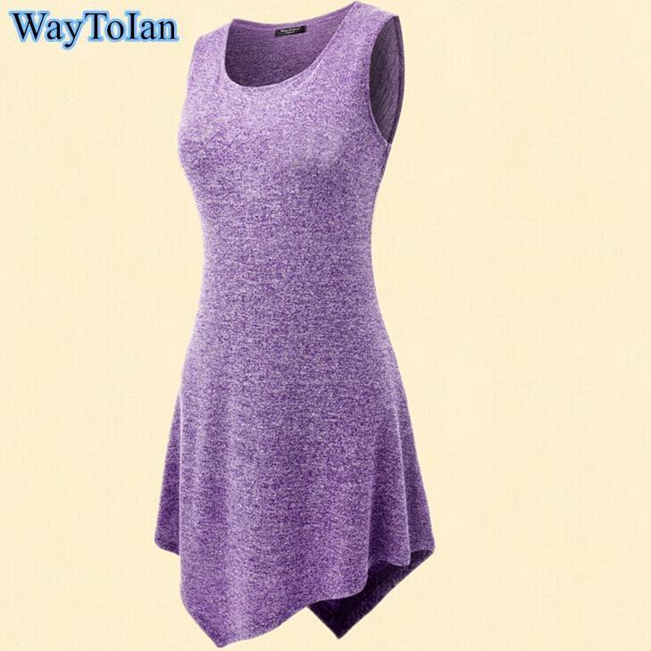 Waytoian summer t shirt women print t shirt sleeveless o for Tie dye sleeveless shirts