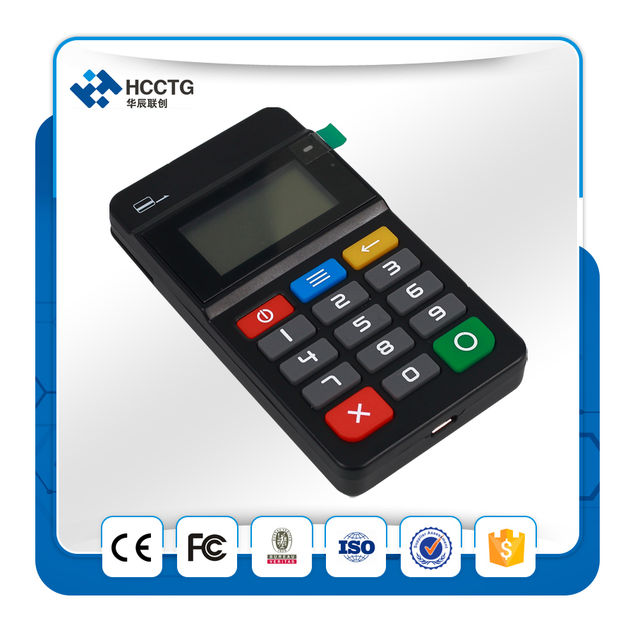 Ultra thin Mini POS Machine For Store. NFC Credit Card Terminal