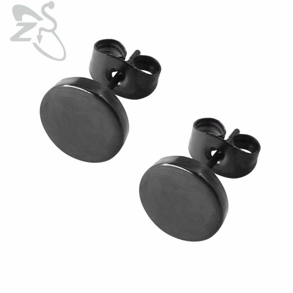 1 Pair Stainless Steel Ear Studs Earringss