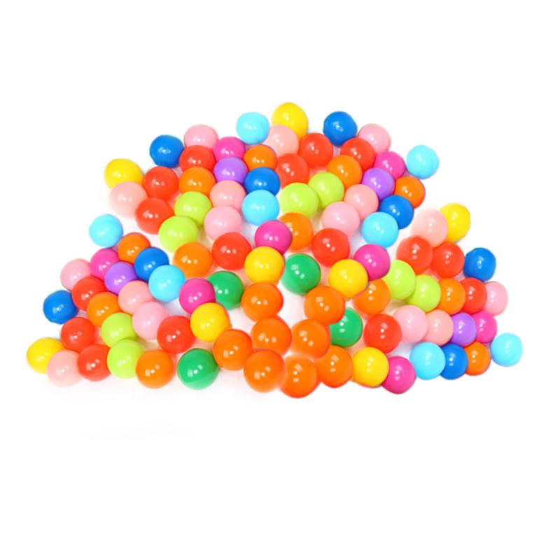 100Pcs/lot Soft Plastic Kids Ball Water Pool Ocean Wave Baby Funny Toys Stress Balls Air Indoor Outdoor Kids Swim Pit Balls Gift