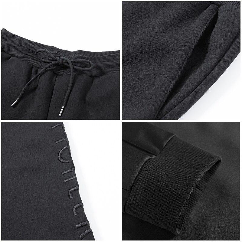 Invierno Nuevo Ropa Gruesa Negro Lana Camisetas Los Marca Pioneros La Campamento Bordado Hombre Azz802299 Calidad De Pantalones Carta Hombres Eqwtzp