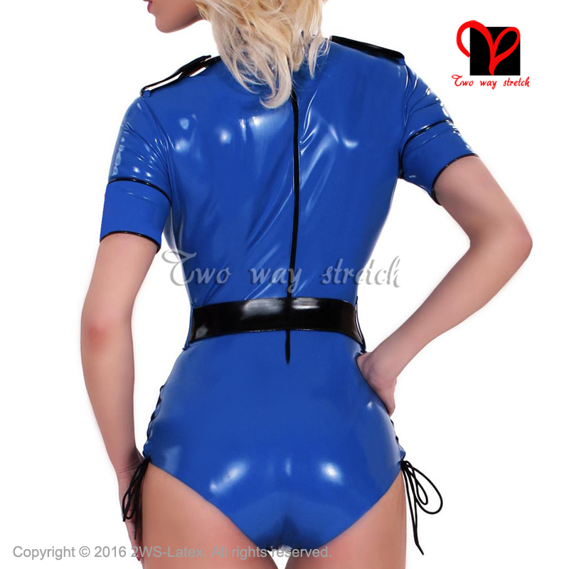 Luggage & Bags Sleeveless Zip At Front Latex Swimsuit Rubber Catsuit High Cut Leg Gummi Jumpsuit Unitard Sexy Latex Leotard Size Xxxl Tc-021
