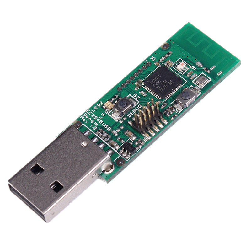 Zigbee CC2531 USB Sniffer Bare Board Packet Protocol Sniffer CC2531 Analyzer Module Zigbee USB Interface Dongle Capture Packet