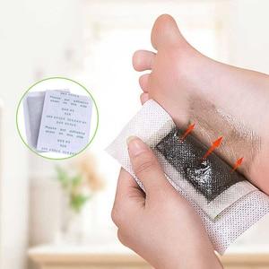 Image 2 - 800pcs=400pcs patches+400pcs Adhensives Kinoki Detox Foot Patches Slimming Feet Pads Improve Sleeping And Blood Circulation