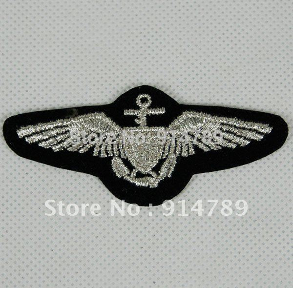 US UNITED STATES NAVAL AVIATORS WINGS EMBROIDERED PATCH -32268