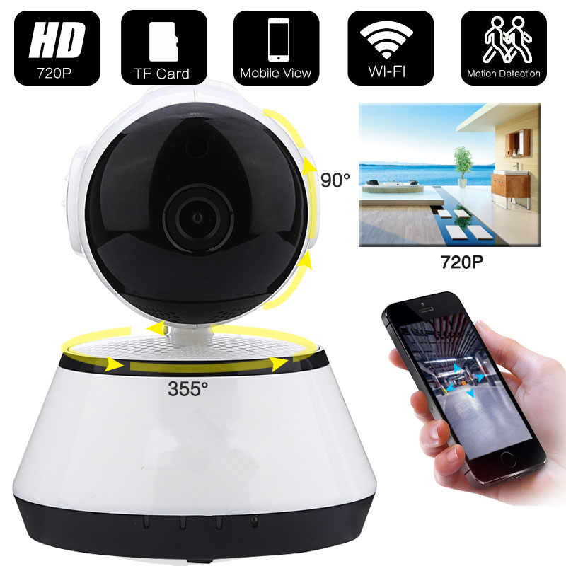 720P Security Network CCTV wifi camera Wireless HD Digital Security ip camera IR Infrared Night Vision local alarm Yoosee App baby monitor camera wireless wifi ip camera 720p hd app remote control smart home alarm systems security 1mp webcam yoosee app