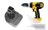 Protective 12V 3500mAh Ni MH Battery Power Tools Batteries Cordless Drill for Dewalt DE9071 2802K DE9074 DE9075 DC740K