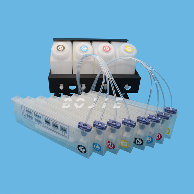brand new continous ink supply system/ciss/continuous ink tank system for Mutoh /Mimaki /Allwin /Xuli /Zhongye inkjet printer hot sale 1000ml roland mimaki mutoh textile pigment ink in bottle color lc for sale