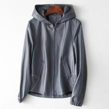 2019 New Fashion Genuine Sheep Leather Jacket H23