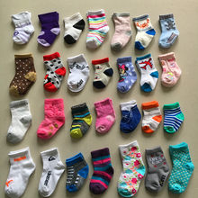 0 to 24 months spring and summer months thin air newborn infant baby socks and pure cotton doll by stereo(China)