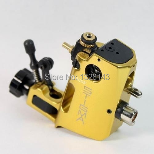 High quality Professional Yellow Swiss Motor tattoo gun Stigma Hyper V3 Rotary Tattoo Machine Liner& Shader Top Free shipping new top quality professional coral motor tattoo rotary machine gun for liner shader red free shipping