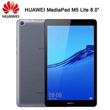 Resmi HUAWEI MediaPad M5 Lite 8.0 inç Android 9 EMUI 9.0 Hisilicon Kirin 710 Octa çekirdek çift kamera 5100mAh pil Tablet