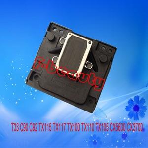 Оригинальная печатающая головка для Epson C90 C92 D92 TX115 TX117 TX100 TX110 TX105 TX300F TX300 CX5600 CX3700 600F CX550