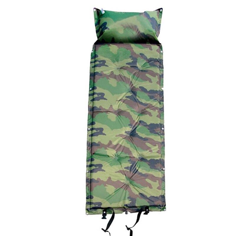 180*55*2.5 tapis de Camouflage automatique imperméable à l'humidité pliable coussin de siège de Camping Portable matelas gonflable de sommeil