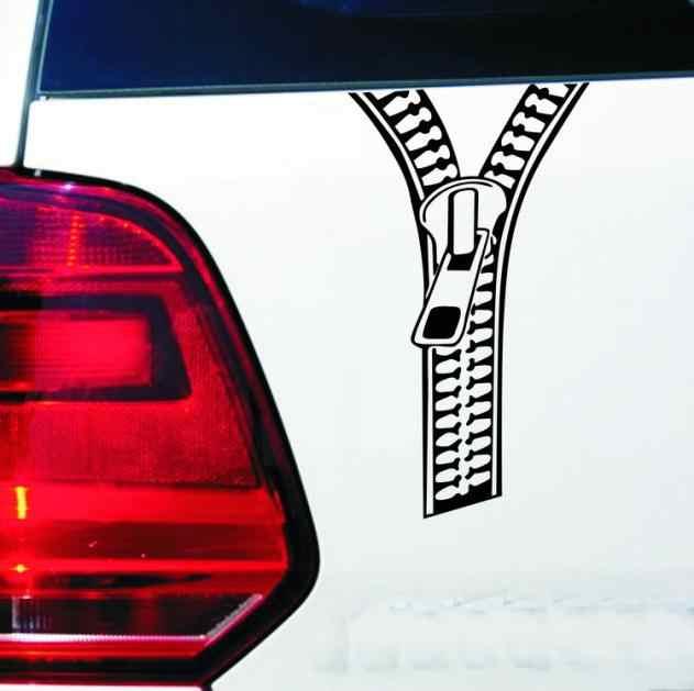 Xe ngụy trang tạo kiểu vincy chết cắt miếng dán Ngộ Nghĩnh dây kéo hình dán xe hơi trên đuôi bình nhiên liệu Bên Cửa chống nước đề can