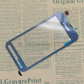 Para samsung galaxy xcover 3 g388f g388 touch pantalla digitalizador de vidrio panel parts reemplazar azul