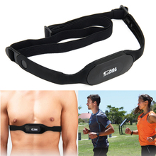 Electronis chest rate pedometer monitor strap heart band elastic bluetooth fitness