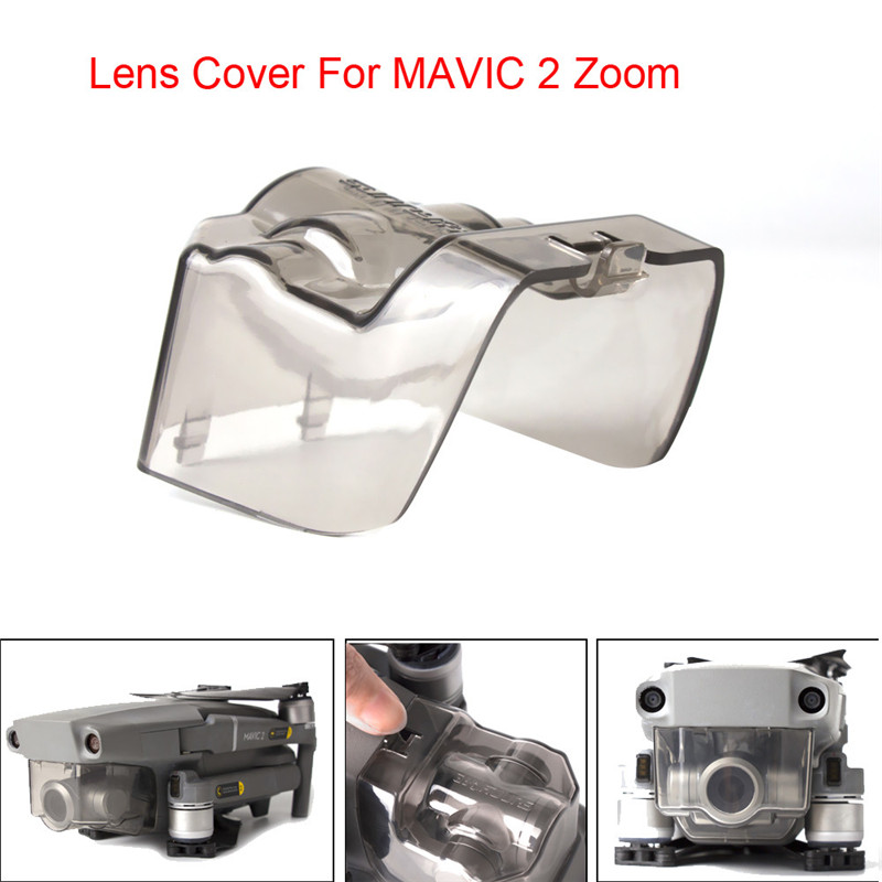 Integrated Protection Cover Camera Lock Lens Cap For DJI Mavic 2 Pro & Zoom O.19Integrated Protection Cover Camera Lock Lens Cap For DJI Mavic 2 Pro & Zoom O.19
