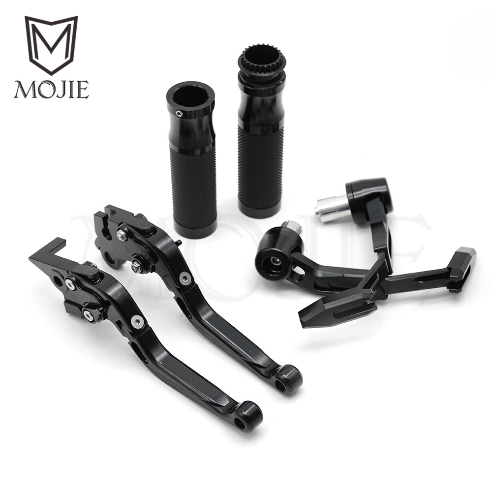 Motorcycle Brake Clutch Levers Handle Bar Hand Grips Lever Guard Guards Set For Honda CBR 600